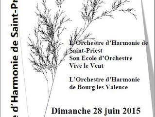 Fort en Musique : avec l'école Vive le Vent et l'Orchestre d'Harmonie de Bourg-les-Valen
