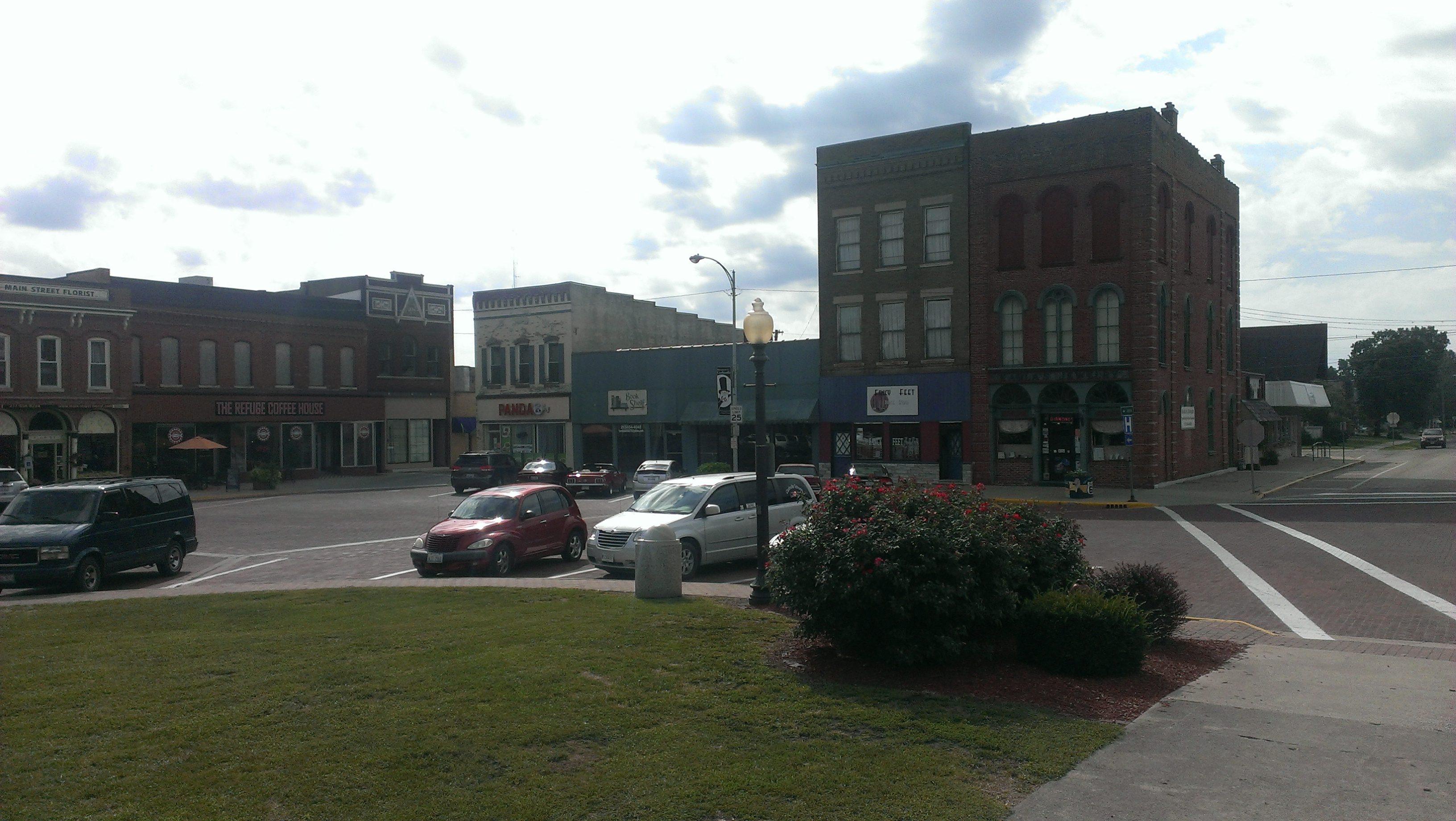 Downtown Carlinville, IL