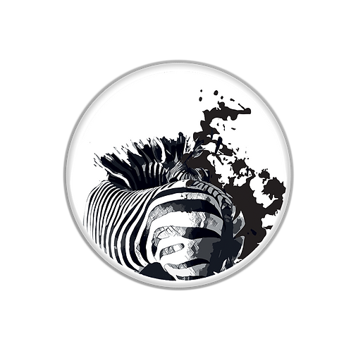 My Badge Black&White