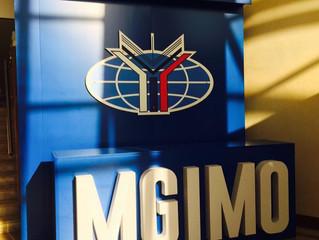 Сегодня снова тренинг в МГИМО