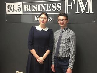 В гостях на Business FM Казань!