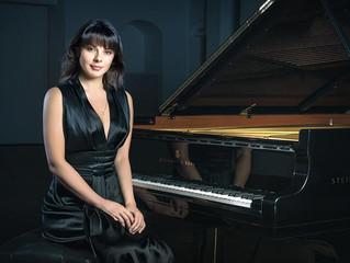 Моё интервью с самой красивой пианисткой мира!