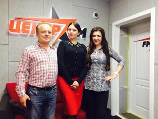 Интервью радиостанции ЦЕНТР FM!