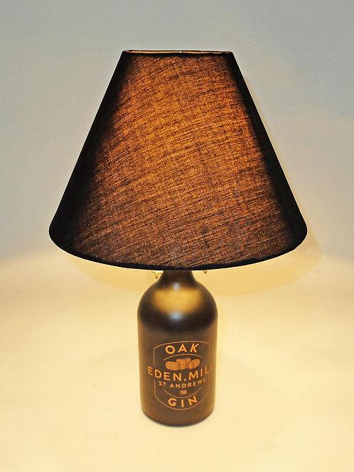 Eden Mill Oak Gin Bottle Lamp