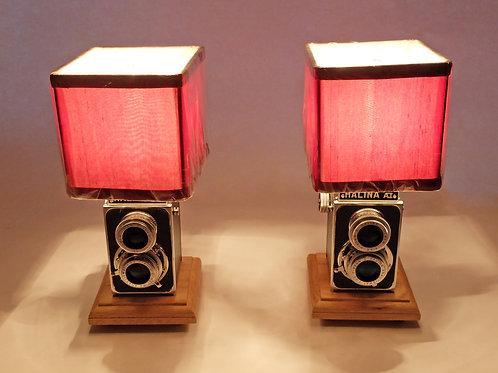 Pair of Vintage TLR Lamps