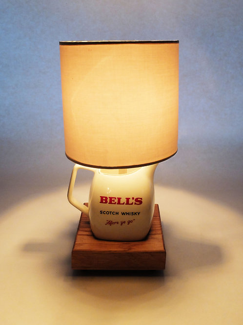 Bell's Whisky Water Jug Lamp