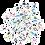 Thumbnail: Kit Formando Palavras Imantado 140 peças 3x3cm