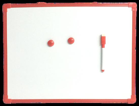 Quadrinho Magnético Vermelho 35x25cm