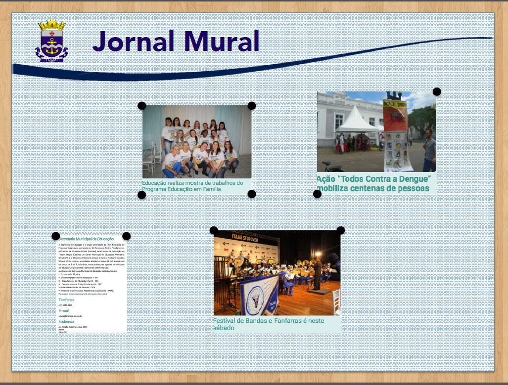 Gestão Visual - Jornal Mural
