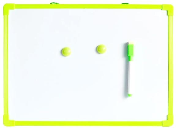 Quadrinho Magnético Verde 40x30cm