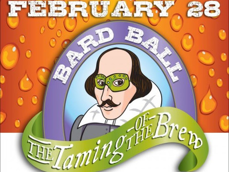 Bard Ball 2015: The Taming of the Brew
