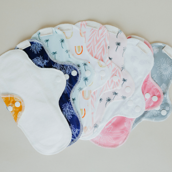 Organic Cotton Cloth Sanitary Pads
