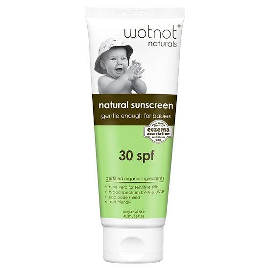 30 SPF Natural Baby Sunscreen 100g