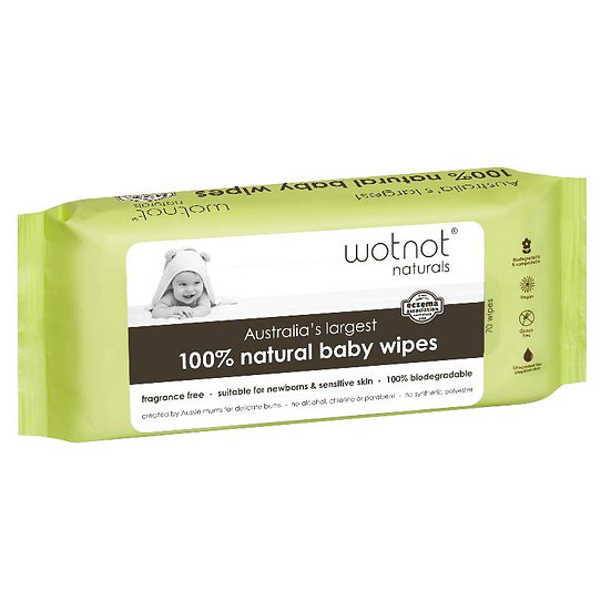 WotNot 100% Natural Baby Wipes