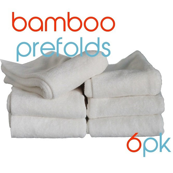 BubbleBubs Prefold Packs