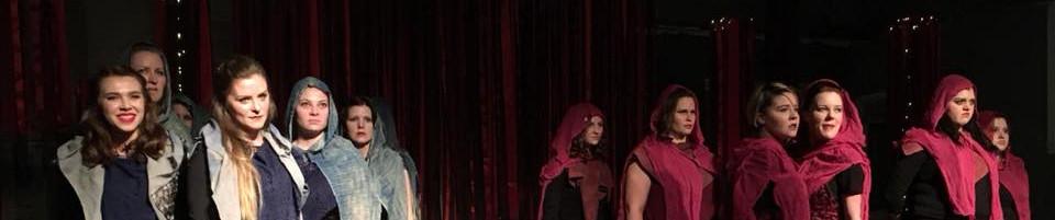 Julius Caesar, Women of Will Theatre Co., 2016