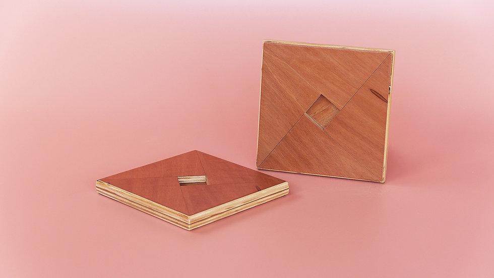Origamin Descanso de Panelas c/2