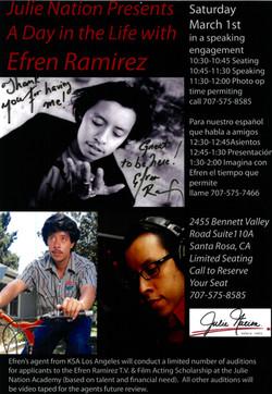 Efren Ramirez Poster