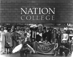 Nation College Halloween 1