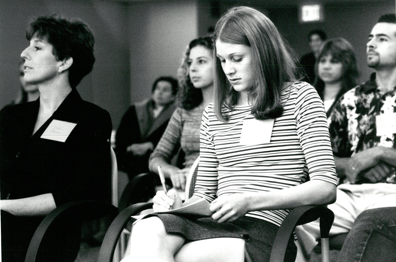 Sitting Students