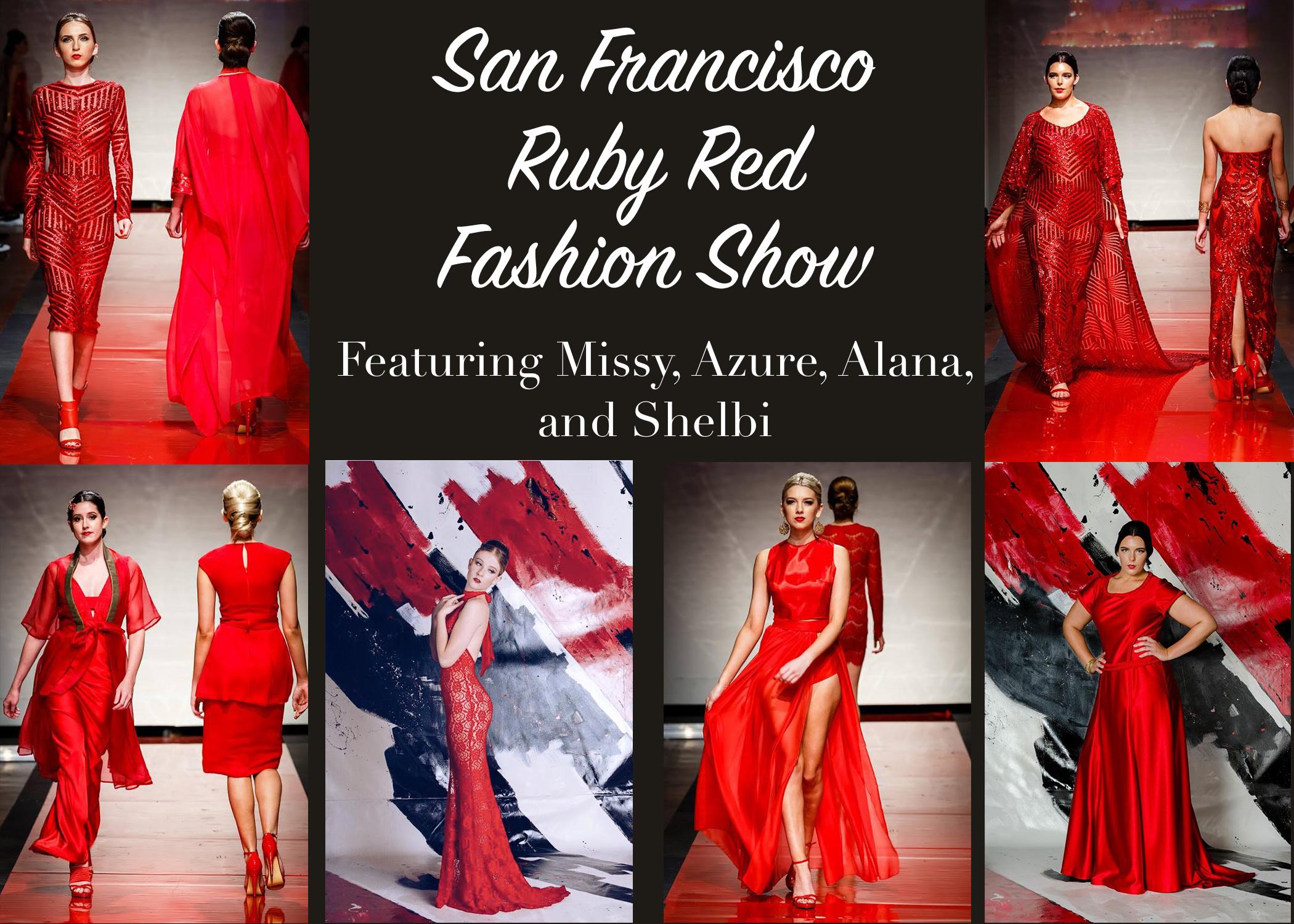 San Francisco Ruby Red Fashion Show
