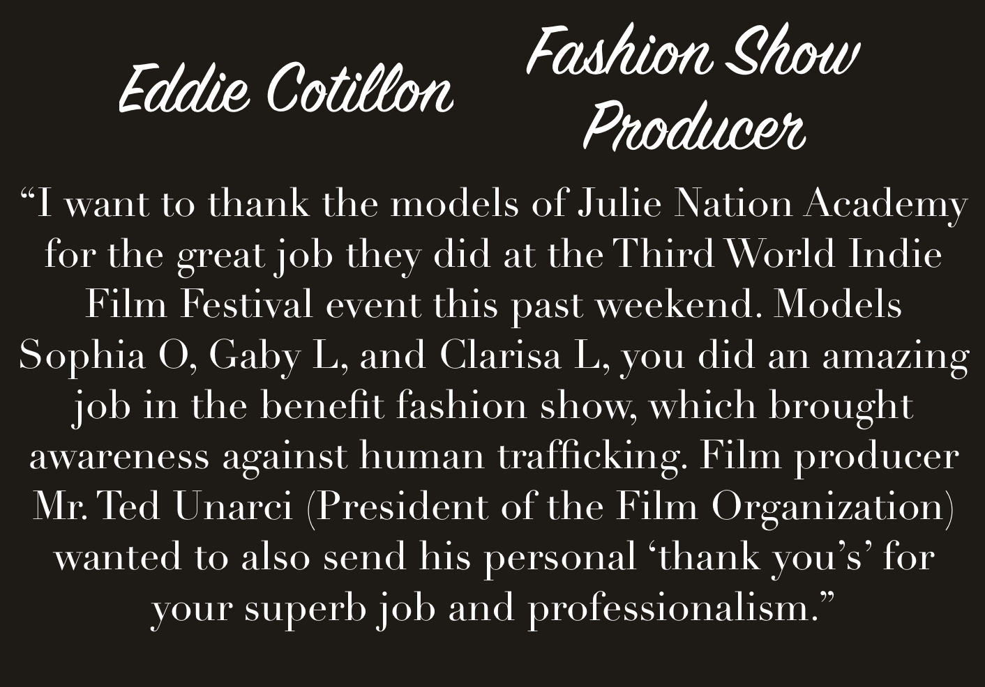 Eddie Cotillon