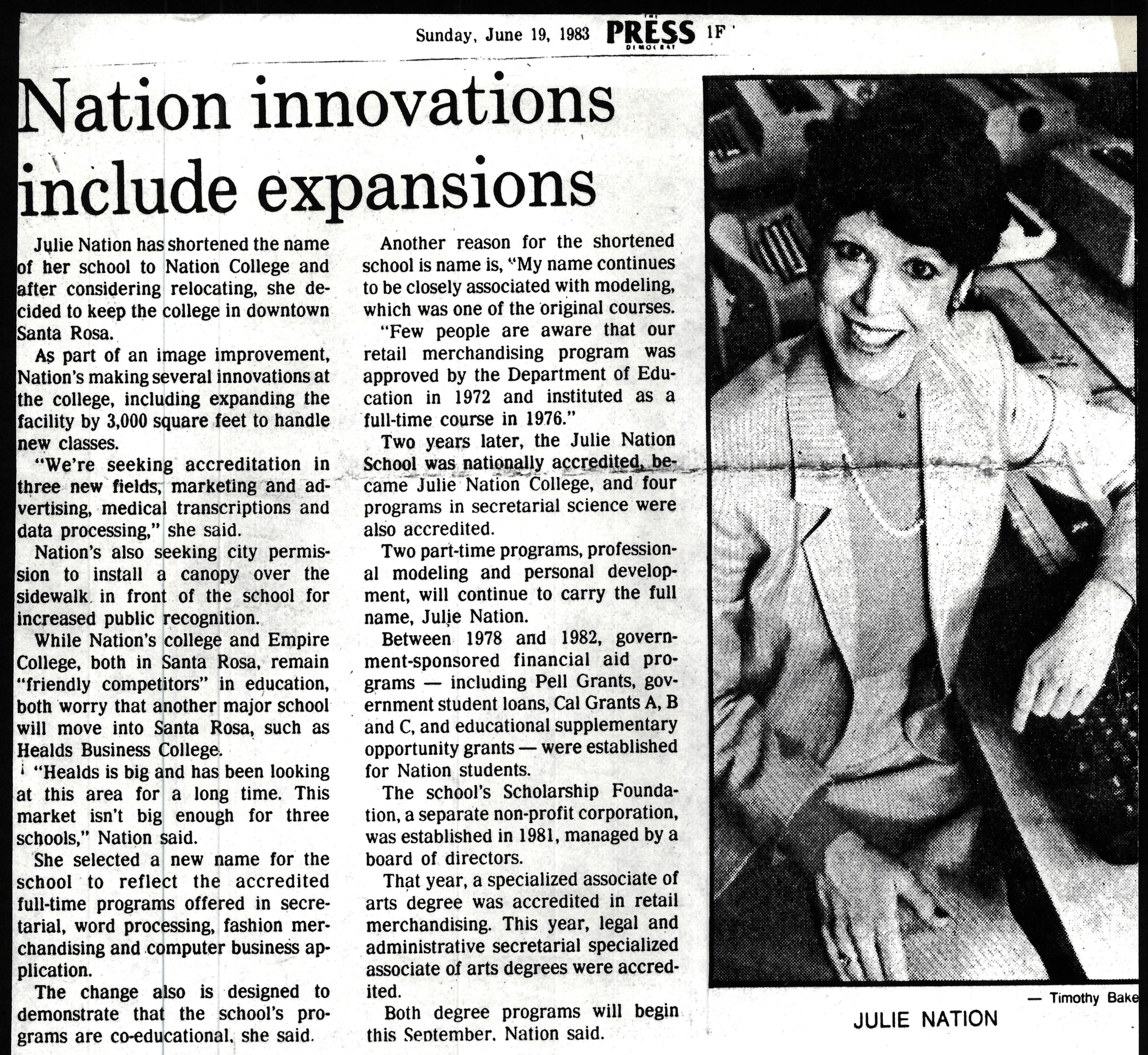1983 Expansions