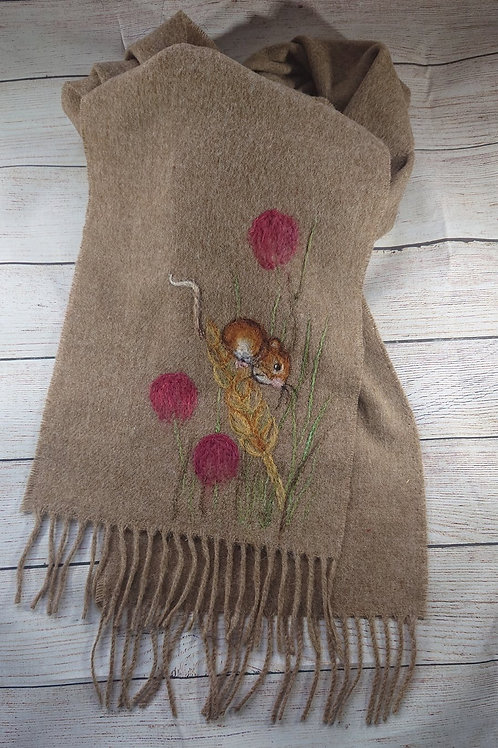Harvest Mouse Scarf