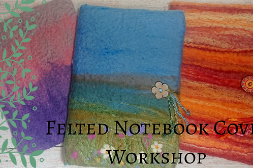 Notebook Covers at Studio 62 - deposit only