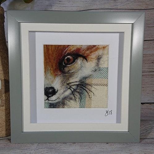 Fox Needle Felt Picture