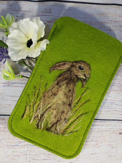 Hare phone case