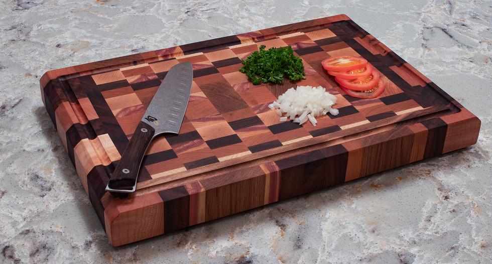 Butcher Block Knife