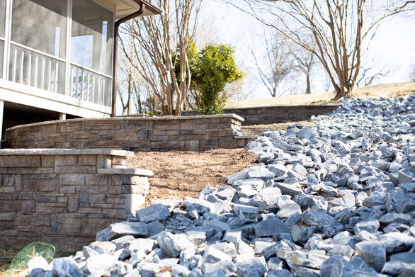 Hardscaping with Rocks