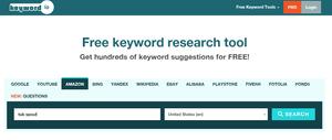 Keyword.io Screenshot 1