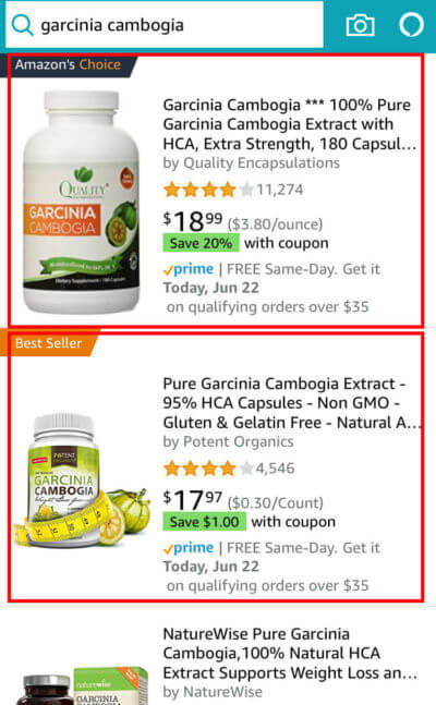Supplements Example