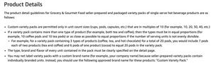 selling tea on amazon
