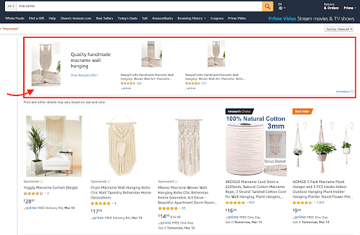 Amazon Headline Search Ads