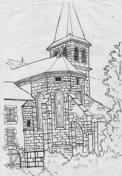 Eglise du Bourget-du-Lac