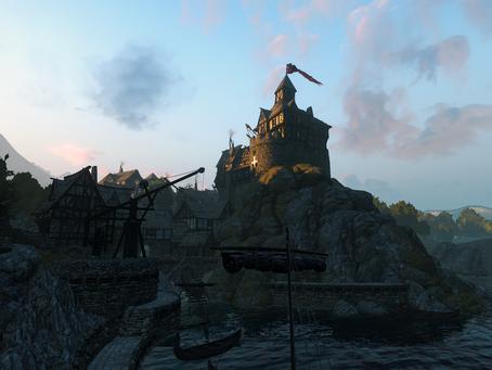 The Old World - Warhammer - Empire village