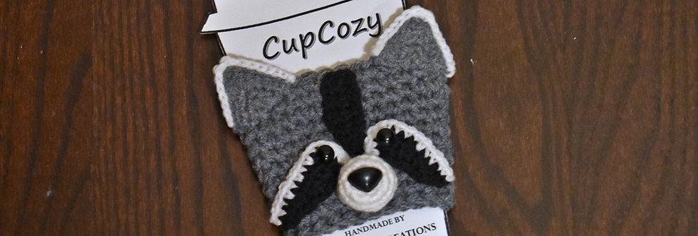 Raccoon Cup Cozy