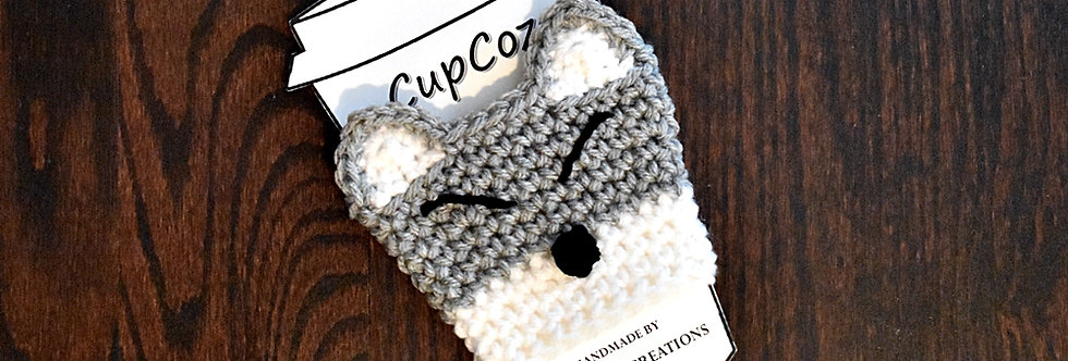 Wolf Cup Cozy