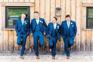 Jenna + Thomas - Saint John Wedding - Bates Barn - Tori Claire Photography - Groom Getting