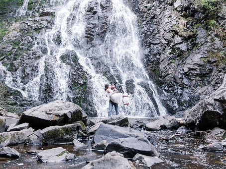 Helene + Ben | Waterfall Engagement