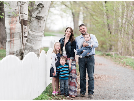 A Spring Family Session