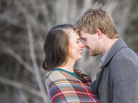 Winter Engagement Session | Fredericton New Brunswick | Tori Agius Photography
