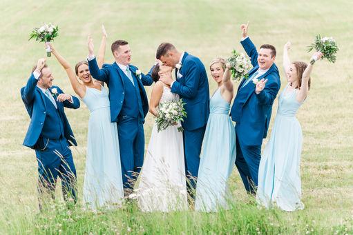 Jenna + Thomas - Saint John Wedding - Bates Barn - Tori Claire Photography - Wedding Party