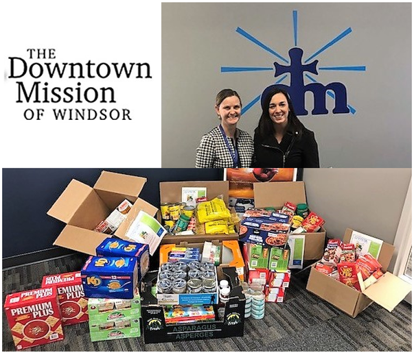 Donation to Downtown Mission Full - 2018