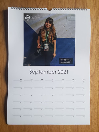 Women In Live Music // Calendar, 2020