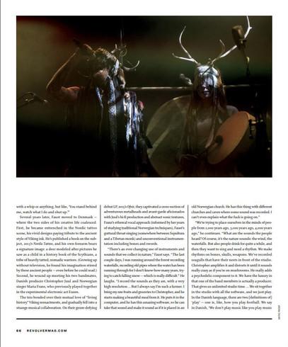 Heilung // Revolver Magazine, 2019