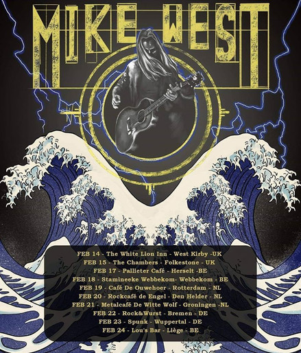Mike West // Tour Poster, 2019